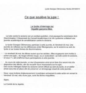 le cadre du Lycée Georges Clémenceau de Nantes